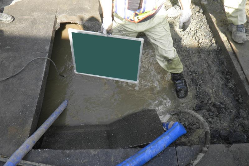 水道緊急工事