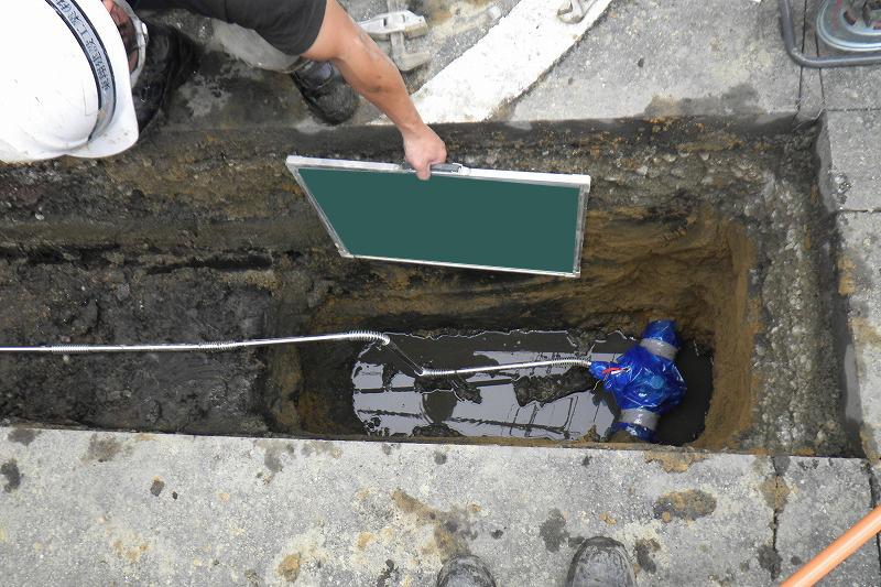 給水管工事
