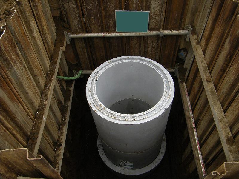 配水本管工事